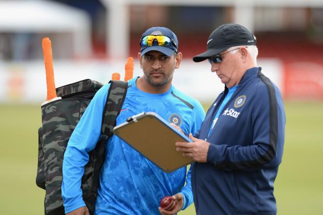 India Should Axe Duncan Fletcher but Keep MS Dhoni After 3-1 Loss to England
