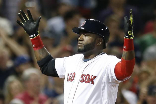 Red Sox's David Ortiz Becomes 3rd Player in Franchise History with 400 Home Runs
