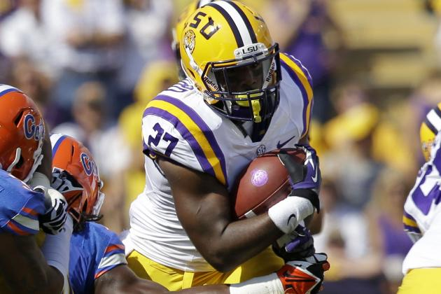 Future Is Bright for LSU Running Back Crew