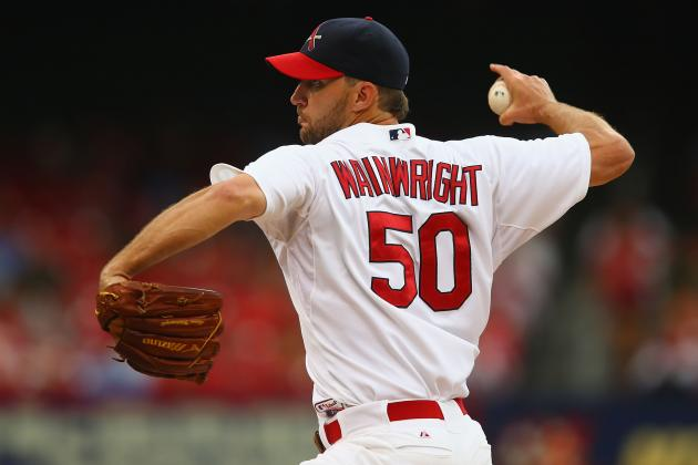 Cardinals' Adam Wainwright Reaches 15 Wins for 4th Time in Career