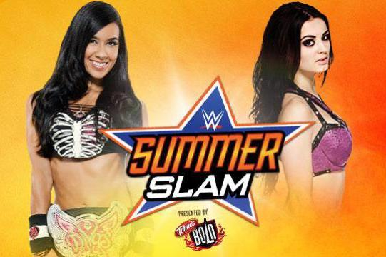 AJ Lee vs. Paige: Winner and Post-Match Reaction from WWE SummerSlam 2014