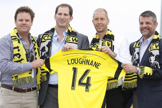 New Columbus Crew President Andy Loughnane Arrives with Rebrand