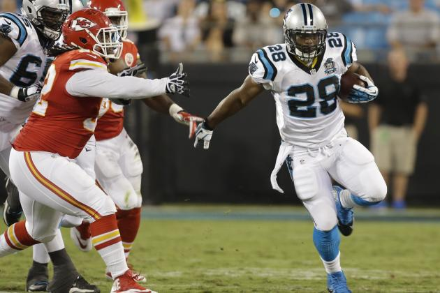 Jonathan Stewart's Instant Fantasy Reaction After Preseason Game vs. Chiefs