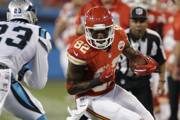 Dwayne Bowe's Instant Fantasy Reaction After Preseason Game vs. Panthers