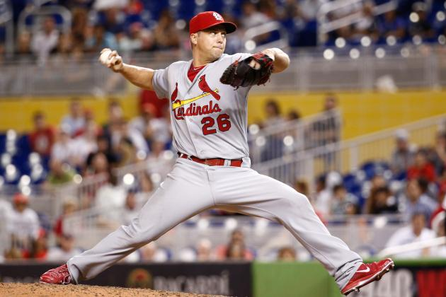 Rosenthal Struggles Again in Cards' Win