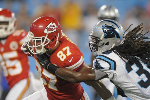 Travis Kelce's Instant Fantasy Reaction After Preseason Game vs. Panthers