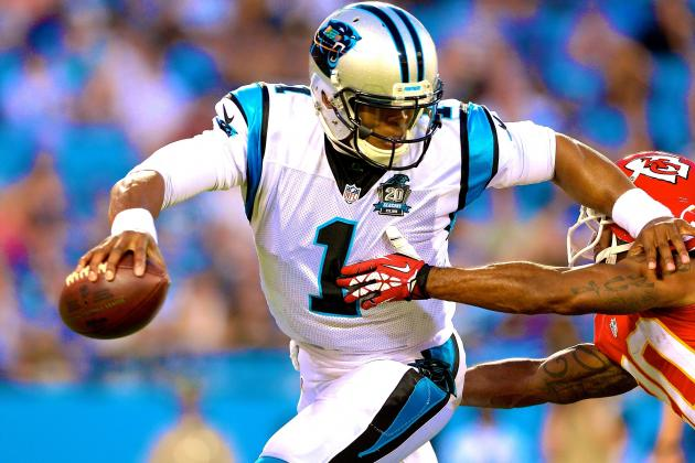 Cam Newton Rusty in Return, but Running Game Keeping Panthers Offense Afloat