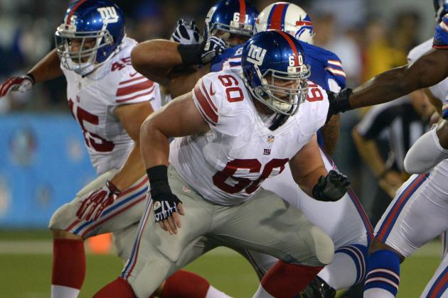 Weston Richburg Moving into Starting Mix on Giants Offensive Line?