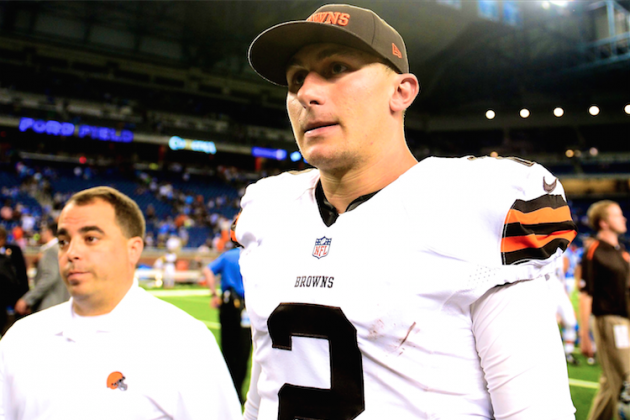 Browns Need Hoyer to Get Them Through a Few Weeks, Then It's Manziel's Team