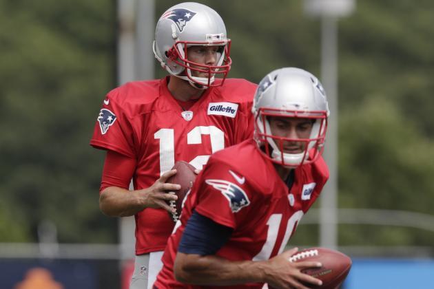 Brady: Garoppolo 'Great' in His Opportunities