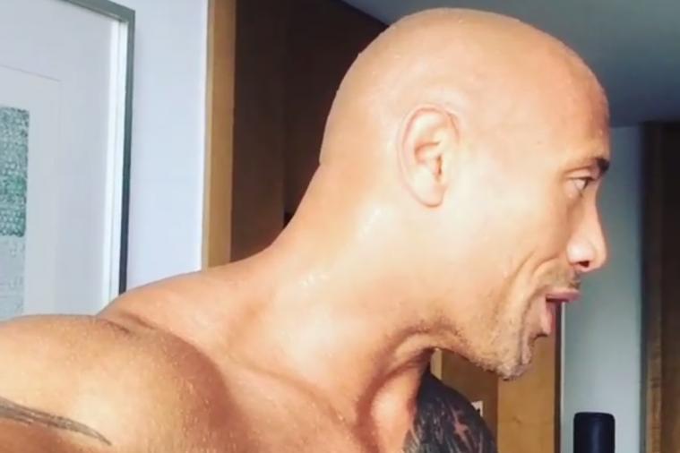 Dwayne 'The Rock' Johnson Talks Dirty in a Strange Instagram Video