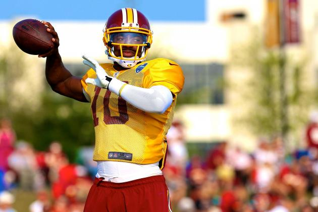 Drawing Up Robert Griffin III's Road Back to Prominence