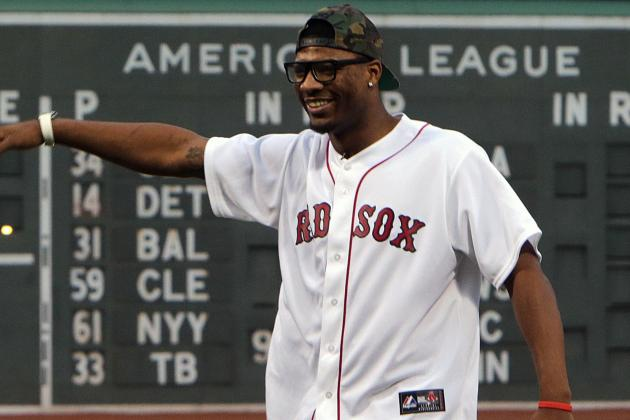 Marcus Smart Takes the Mound, Meets David Ortiz...
