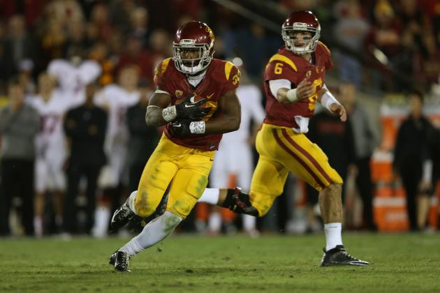 Projecting USC Football's New-Look Offense for 2014 Season
