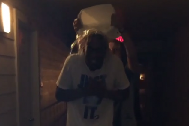 Video: Markel Brown Takes ALS Challenge… with No Cast