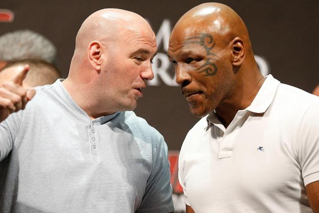 Mike Tyson and Jon Jones Slap Box at WWE SummerSlam, Tyson Wins