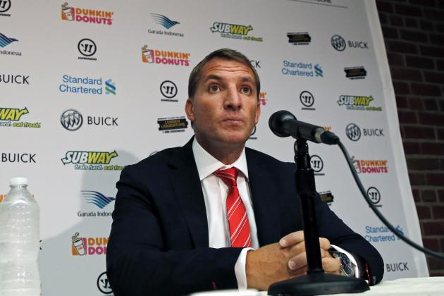 Liverpool Transfer News: Brendan Rodgers Comments on Adding Another Strker