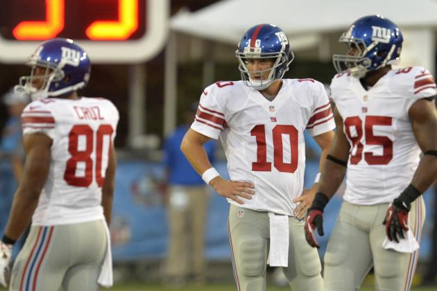 Giants on Struggling Offense: Got to Be Better
