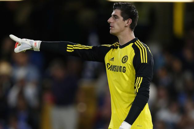 Thibaut Courtois Starts over Petr Cech for Chelsea vs. Burnley