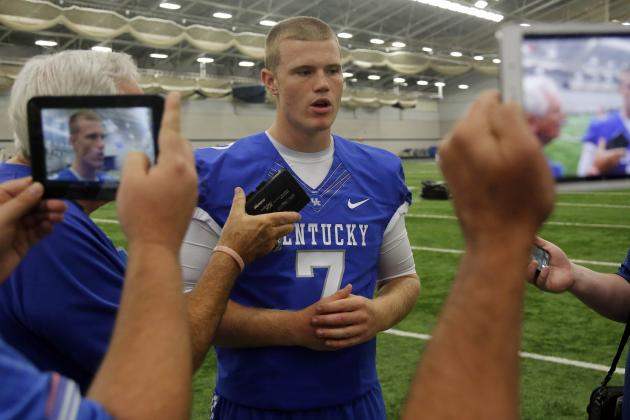 Stoops Not Ready to Talk About Redshirting Drew Barker Yet