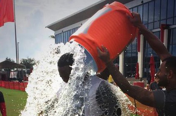 Oklahoma Sooners Take on ALS Ice Bucket Challenge
