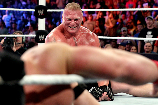 Brock Lesnar Destroying John Cena at SummerSlam 2014 Was Brilliant Booking