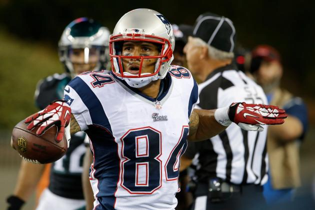 How Patriots Wide Receiver Brian Tyms Has Become a Steady WR for New England