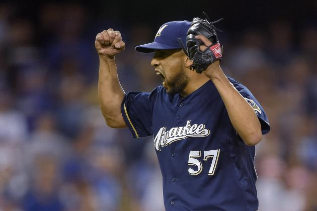 Brewers' Francisco Rodriguez Passes Rollie Fingers for 11th Place on Saves List