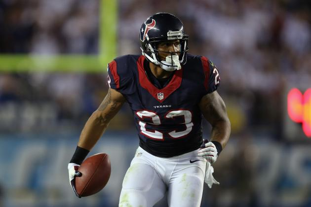 Arian Foster Too Risky for Selection in 1st 2 Rounds of Fantasy Football Drafts