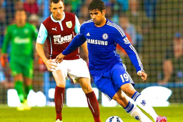 Chelsea New Boys Cesc Fabregas and Diego Costa Already Proving Money Well Spent