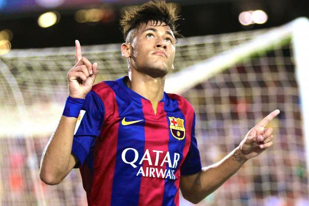 As Luis Suarez Waits, Barcelona Are in Safe Hands with Dazzling Neymar