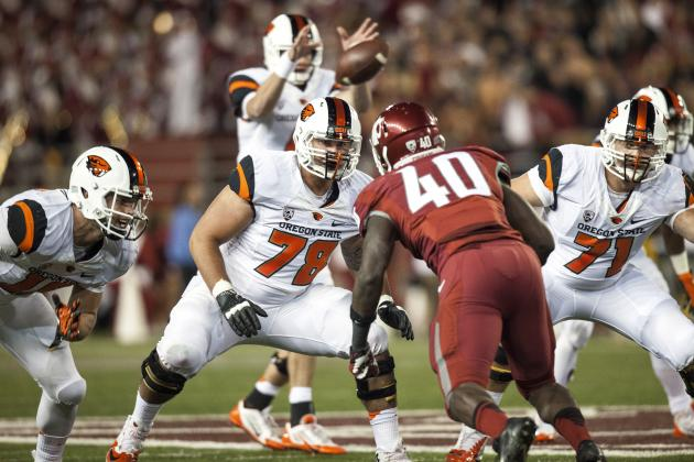 Beavers' Offensive Line in Flux