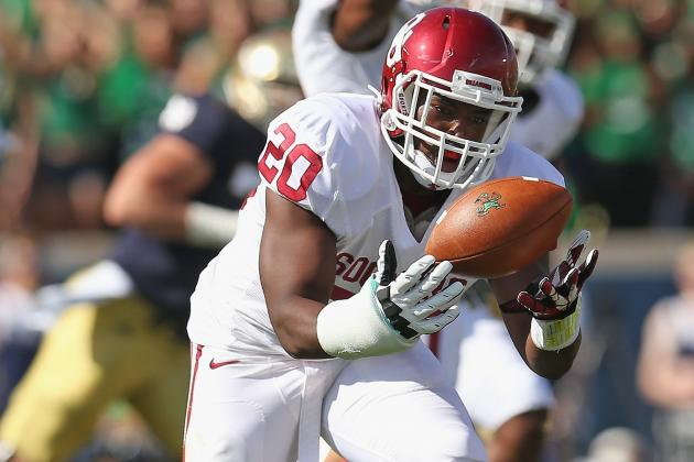 Oklahoma Football Notebook: Frank Shannon Doesn't Practice with First Team