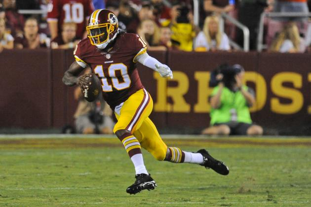 Robert Griffin III's Instant Fantasy Reaction After Preseason Game vs. Browns