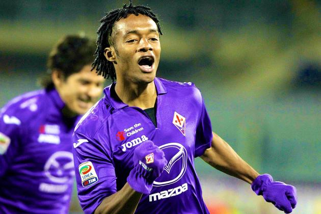 If Van Gaal Wants Versatility at United, Fiorentina's Cuadrado Fits the Bill