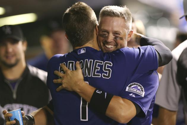 Rockies' Michael Cuddyer Becomes 4th Player to Hit for Cycle in Both Leagues