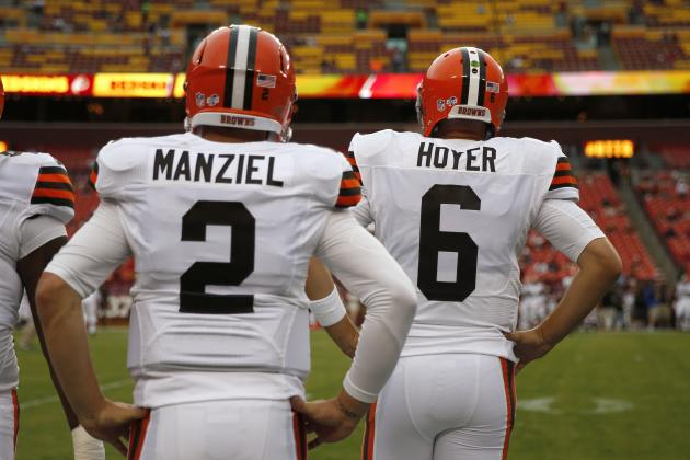 No Matter What Mike Pettine Decides, Brian Hoyer Should Be Looking over Shoulder