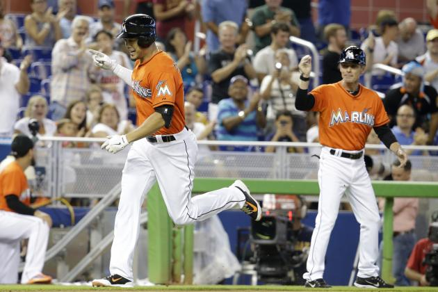 Marlins' Giancarlo Stanton Moves Past Hanley Ramirez on Franchise Home Runs List