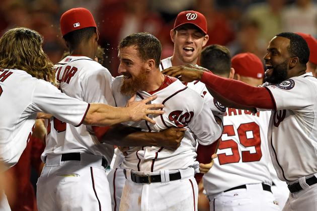 Nationals Win in Walkoff Fashion for Third Consecutive Day