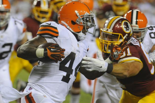 Ben Tate's Instant Fantasy Reaction After Preseason Game vs. Redskins