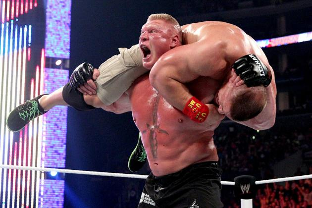 Brock Lesnar's Domination over John Cena Signals a Changing of the Guard in WWE