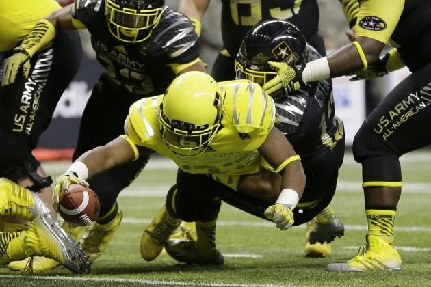 Freshman Royce Freeman Continues to Impress All over the Field