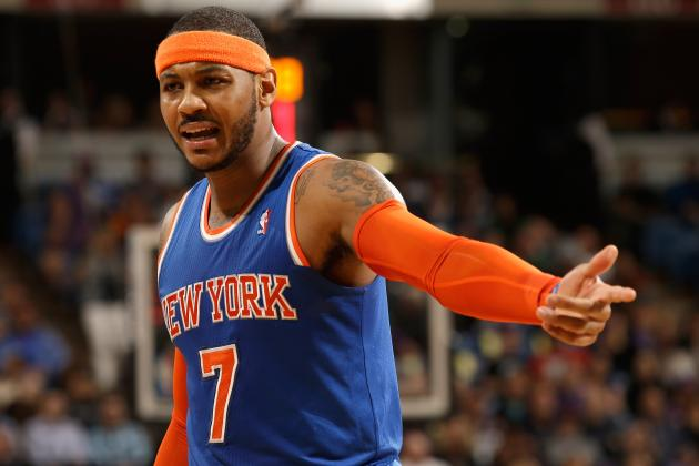 Can Carmelo Anthony Afford to Wait for the New York Knicks to Rebuild?