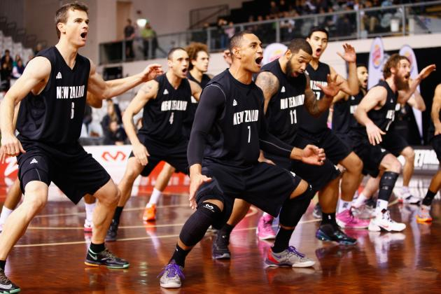 New Zealand Name Undersized Squad for FIBA World Cup