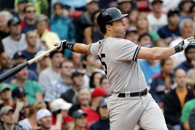 Yankees' Mark Teixeira Ties Joe DiMaggio for 80th on All-Time Home Runs List