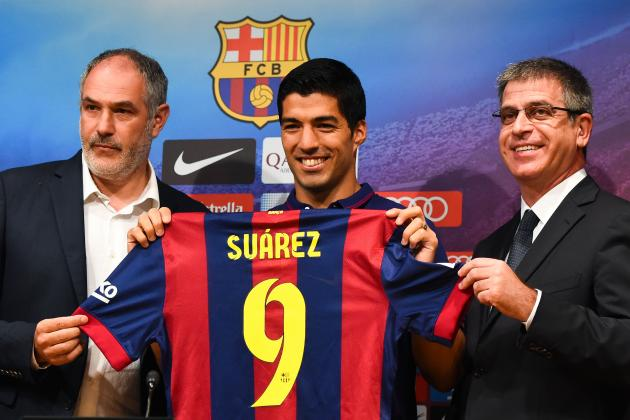Luis Suarez's Barcelona Presentation: Key Takeaways from Striker's Unveiling