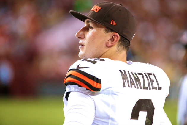 Johnny Manziel Wastes Opportunity, Patience from Browns in Loss to Washington
