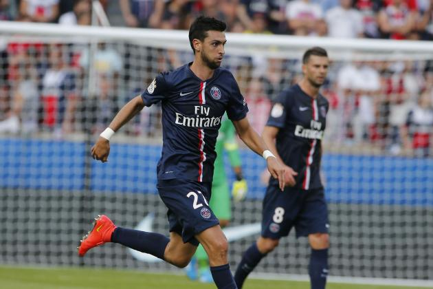 Areas Where Paris Saint-Germain's Javier Pastore Can Improve This Season