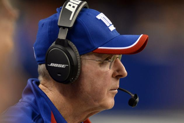 Tom Coughlin Not Even Certain Who Giants' Weapons Are