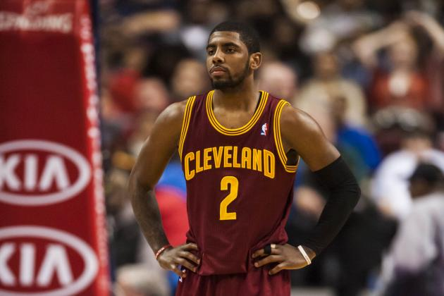 Kyrie Irving Admits He Hasn't Been a Leader for Cleveland Cavaliers